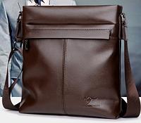 Мужская кожаная сумка. Модель 61290, фото 3