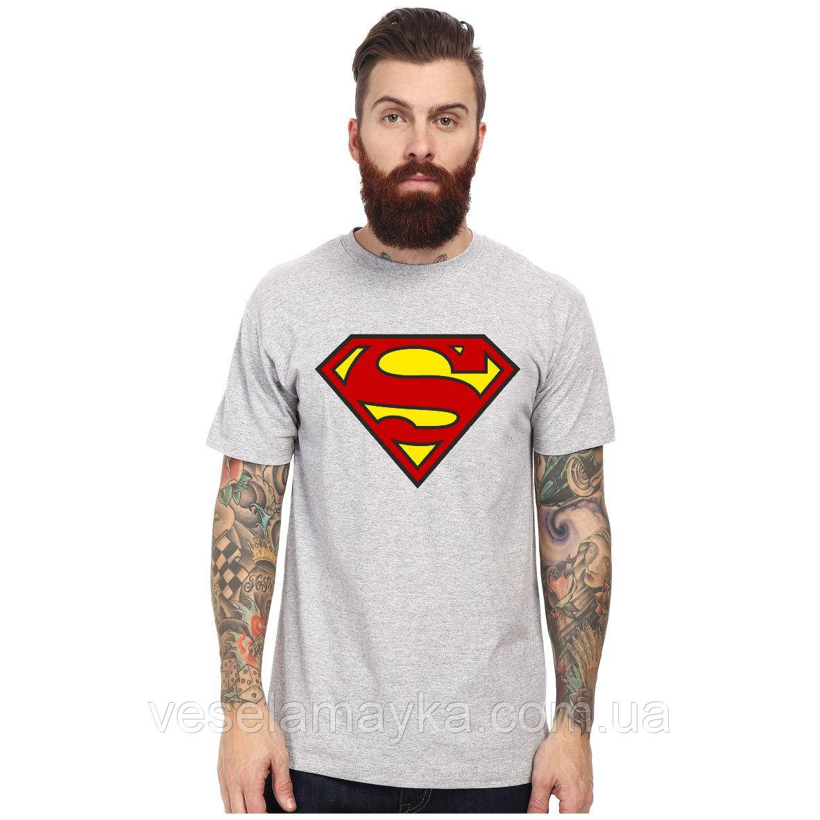 "Футболка ""Супермен 3 (Superman)"""