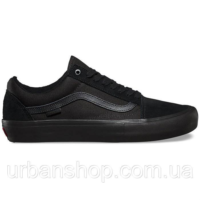 Кеди Vans Old Skool Monochrome Black