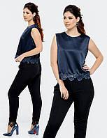 "Стильная блузка для пышных дам "" Сатин "" Dress Code"