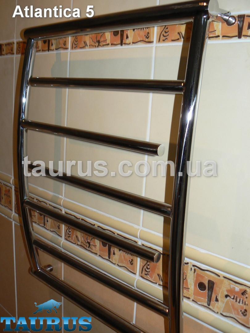Модельный полотенцесушитель Atlantica 5/ 500 из нержавеющей стали