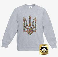 """Детская футболка с длинным рукавом """"Герб"""" (распродажа. уточняйте размер)"""