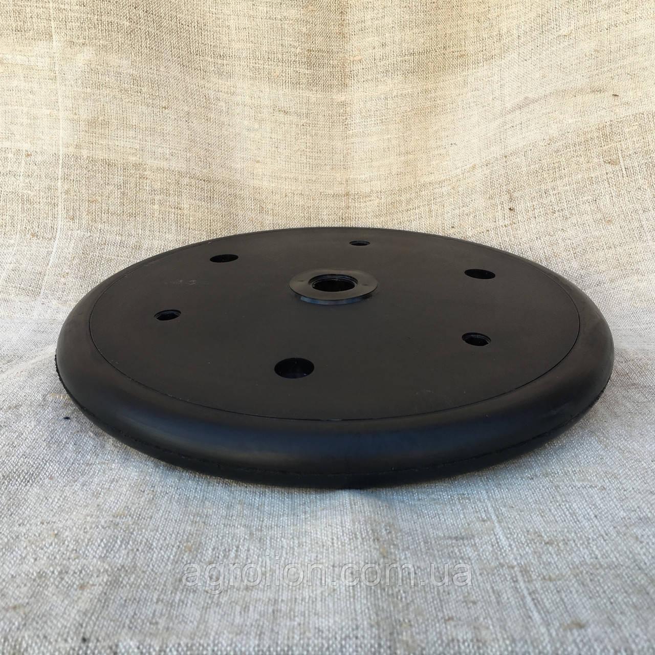 """Прикотуюче колесо в зборі ( диск поліпропілен ) безз підшипника  1"""" x 12"""",John Deere, Great Plains, Monosem, K"""