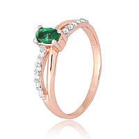 Серебряное кольцо Silvex925 с фианитом 19.3 мм К3ФИ/063-О