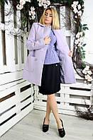 Пальто женское демисезонное Грация 018, кашемировое женское пальто, пальто женское из кашемира