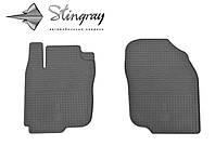 Toyota RAV 4 2013- Комплект из 2-х ковриков Черный в салон. Доставка по всей Украине. Оплата при получении