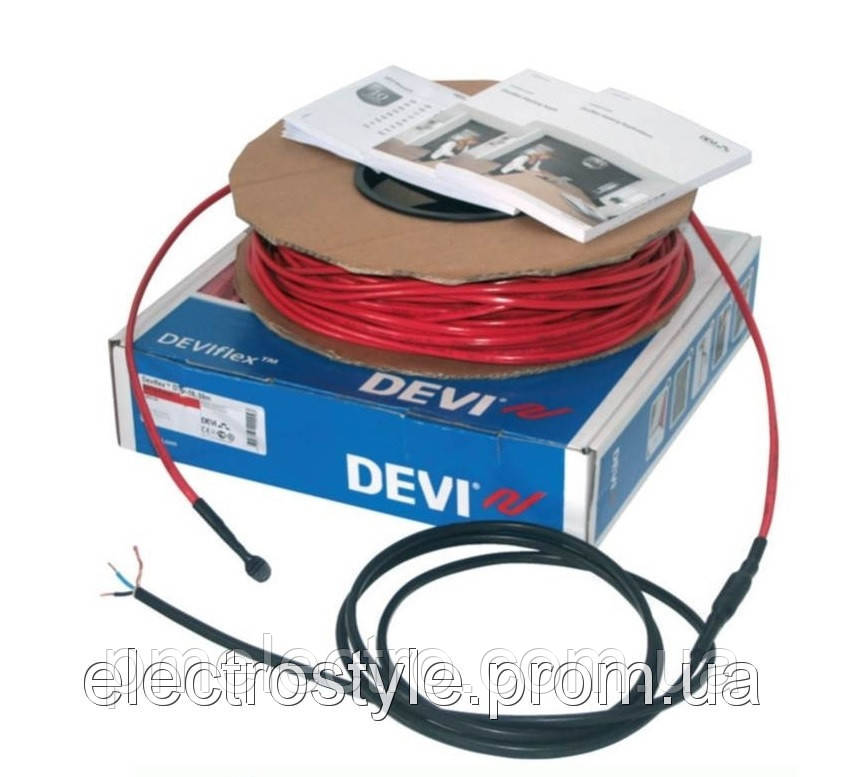 Нагревательный кабель  DEVIflex 18T 34м (563Вт)