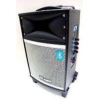 Портативная акустика с микрофоном AT-Q9 (USB/Bluetooth/FM/Аккумулятор)
