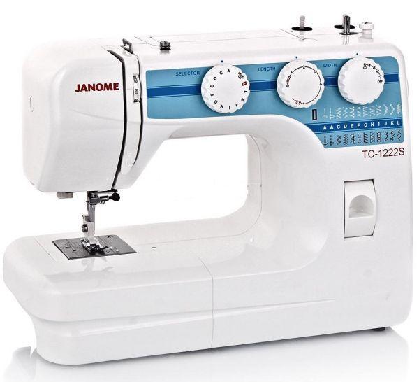 Швейная машина Janome TC 1222S