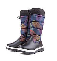 Зимняя обувь Сноубутсы для детей от фирмы KLF(32-37)