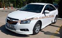 Накладка Torneo на передний бампер для Chevrolet Cruze 2008-2012 седан