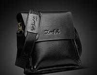Мужская кожаная сумка. Модель 61291, фото 7