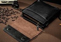 Мужская кожаная сумка. Модель 61291, фото 9
