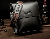 Мужская кожаная сумка. Модель 61291, фото 5
