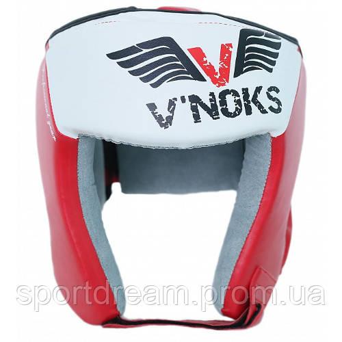 Шлем боксерские V`Noks Lotta Red 60021