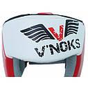 Шлем боксерские V`Noks Lotta Red 60021, фото 2