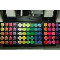 Палитра теней 180 цветов с зеркалом (Уценка, 1 - категория)