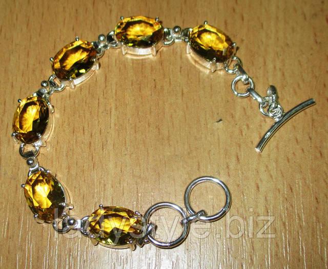 купить украшения серебряный браслет агат натуральный  подарок