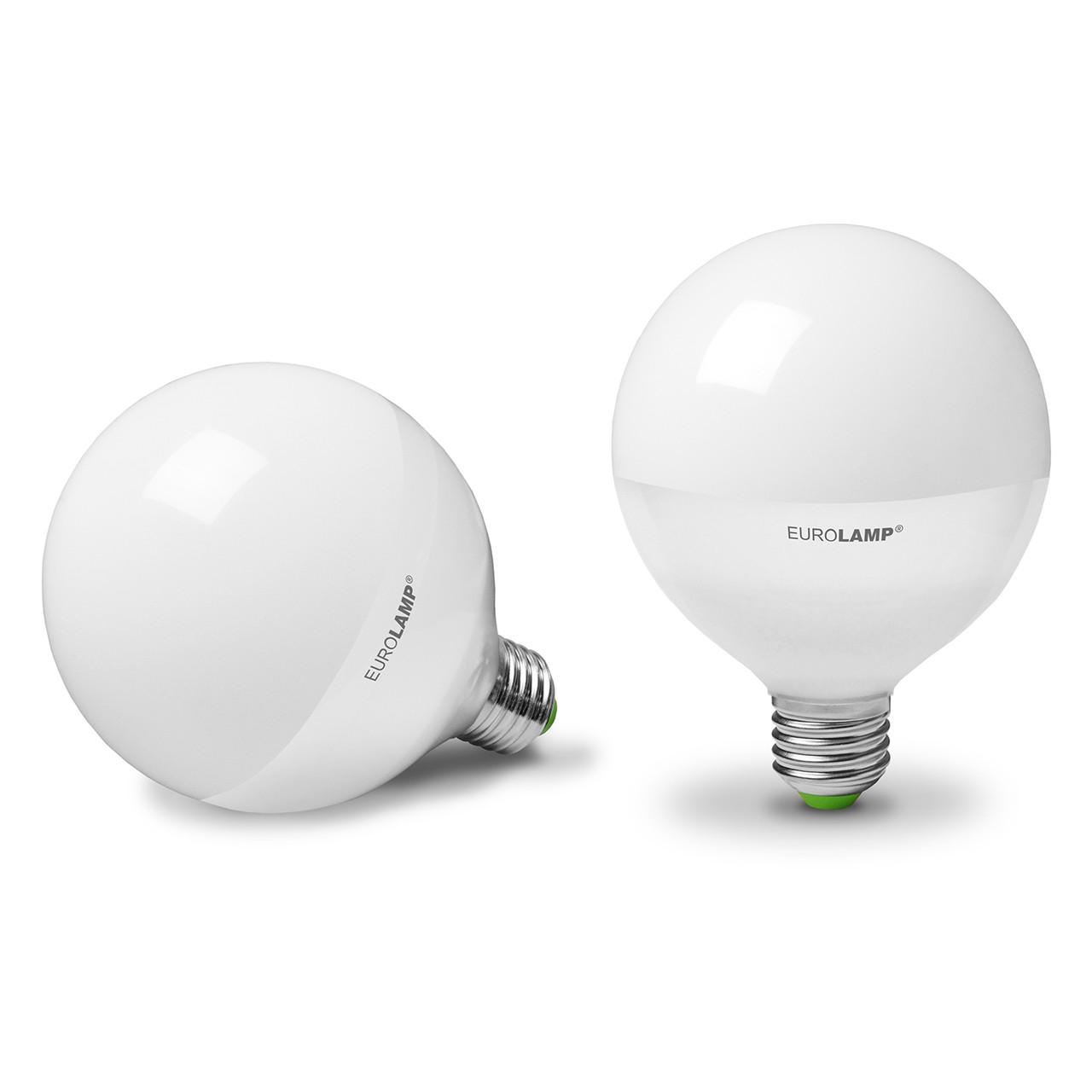 EUROLAMP LED Лампа ЕКО G95 15W E27 3000K