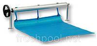 Сматывающее устройство - роллета для накрытия бассейна. 2,7-4,4 м На фланцах.