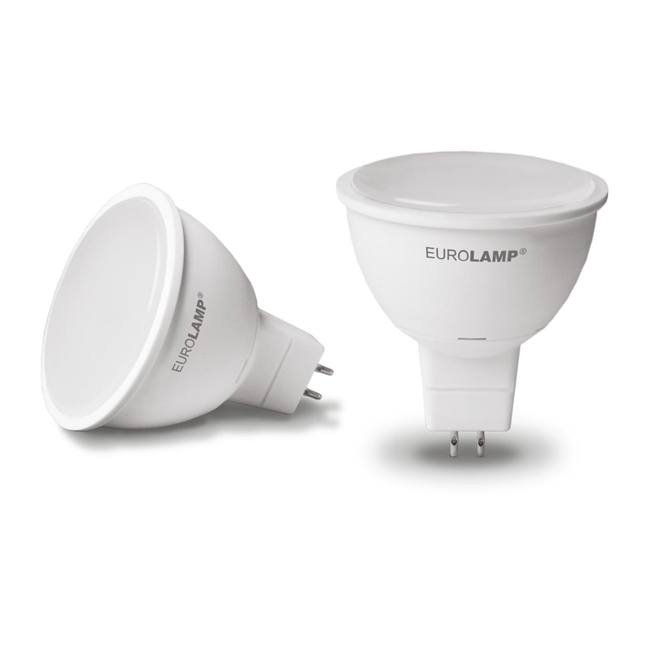 EUROLAMP LED Лампа ЕКО MR16 5W 12V GU5.3 4000K, фото 1