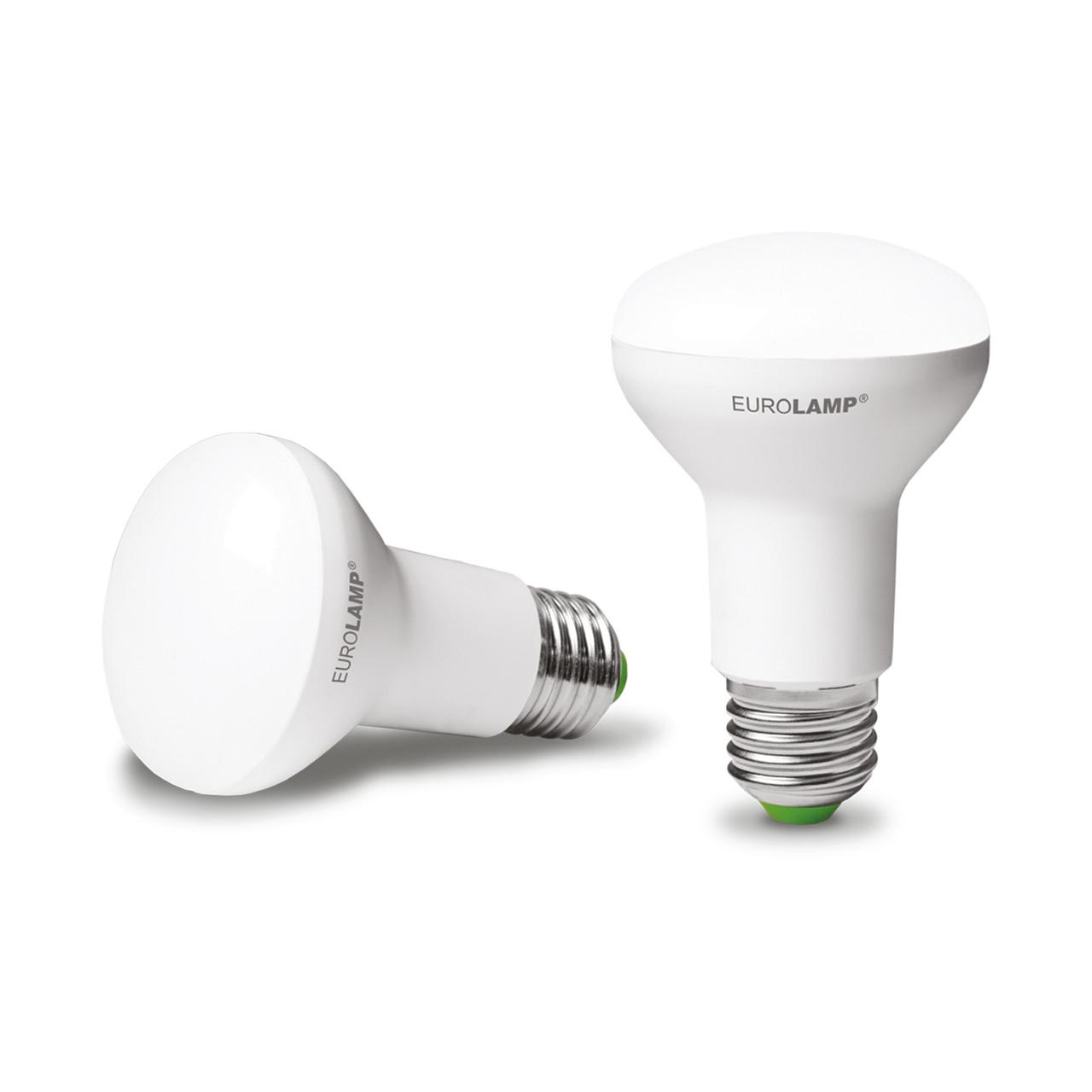 EUROLAMP LED Лампа ЕКО R63 9W E27 3000K