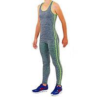 Комплект для занятий фитнесом и йогой майка и лосины ST-2097-G