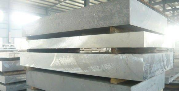 Алюминиевая плита 2017 аналог Д1Т 100 мм, фото 2