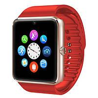 Умные часы телефон Smart Watch GT08 c SIM картой Red