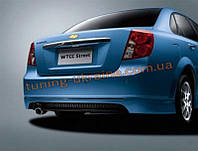 Накладка GM на задний бампер для Chevrolet Lacetti 2004-2013 седан