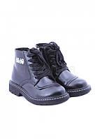 Ботинки детские черные утепленные JoJo