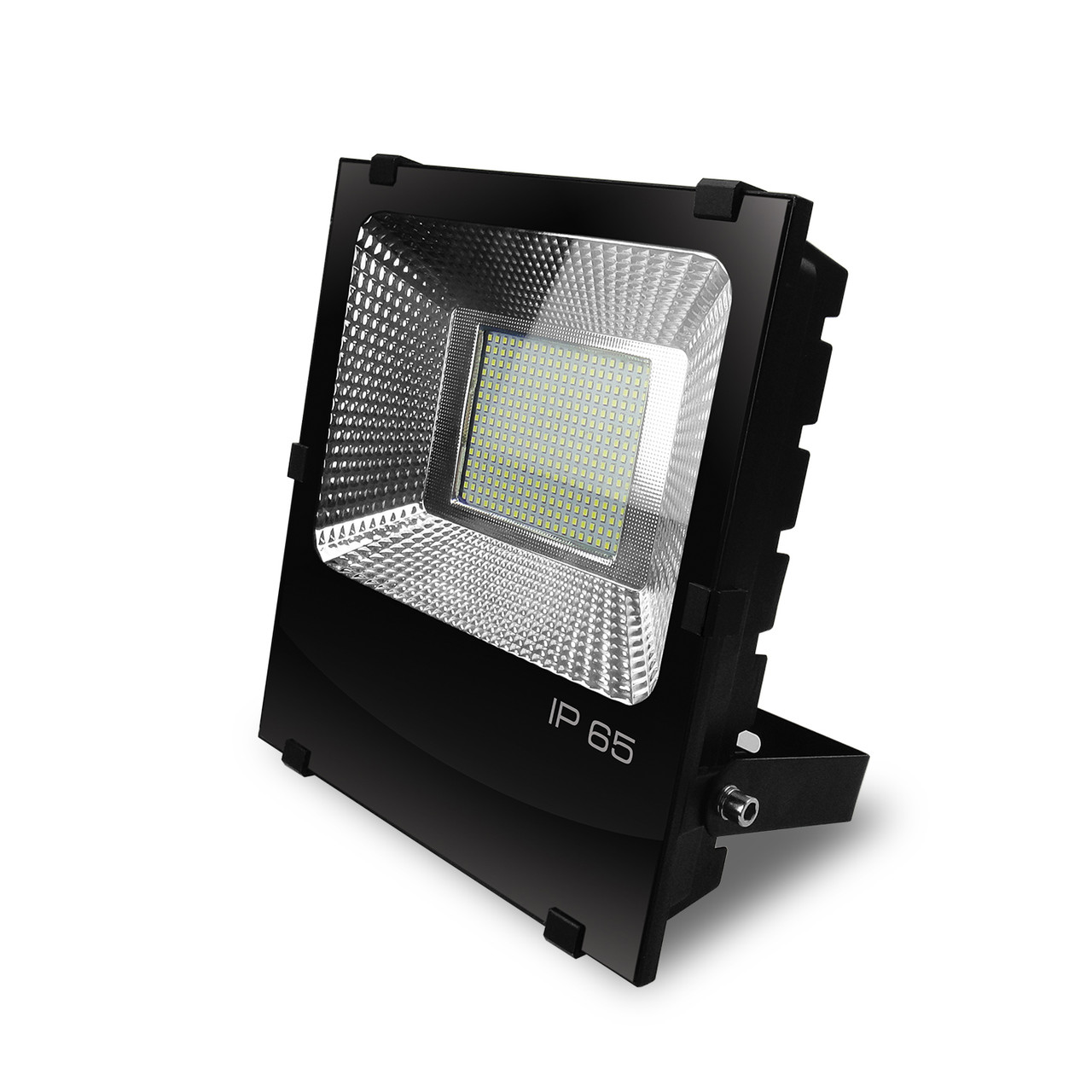 EUROELECTRIC LED SMD Прожектор черный с радиатором 200W 6500K