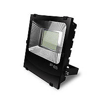 EUROELECTRIC LED SMD Прожектор черный с радиатором 200W 6500K, фото 1