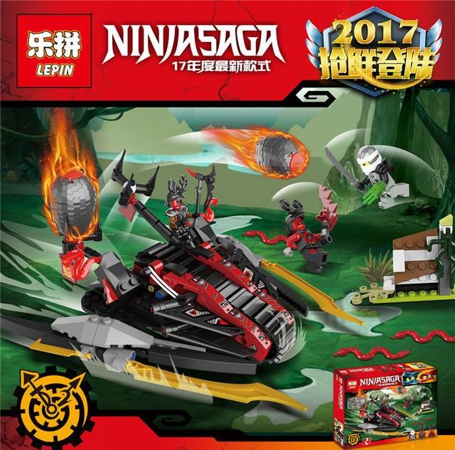 """Конструктор Lepin Ninja 06044 (аналог Lego Ninjago 70624) """"Алый захватчик"""""""