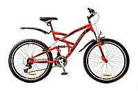 Горный велосипед 26'' DISCOVERY CANYON 2017 (красно-черный)