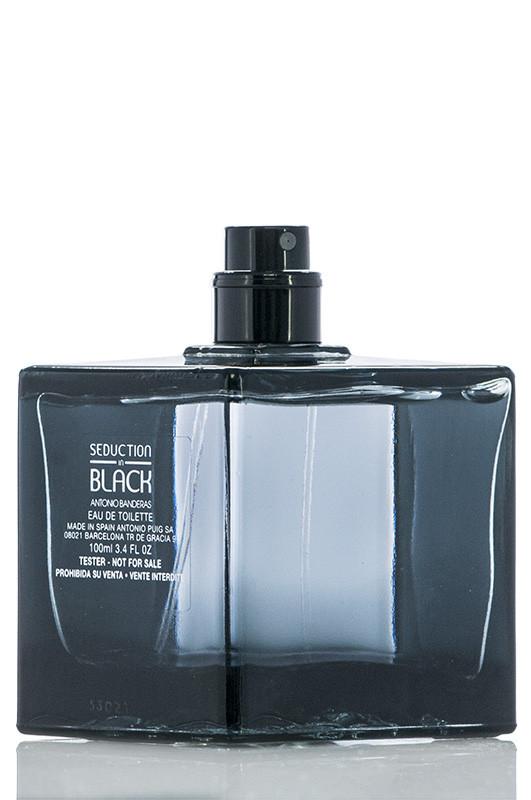 Туалетна вода Antonio Banderas SEDUCTION in BLACK ТЕСТЕР для чоловіків 100 мл Код 12705