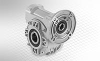 Червячный мотор редуктор Hydro-Mec в круглом корпусе