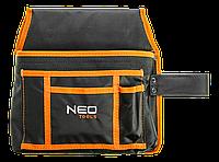 Сумка для инструмента, 4 кармана, петля для молотка NEO 84-333