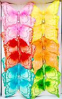 Бабочки из перьев арт.282748-2