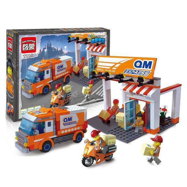 """Конструктор Brick City Series 1119 """"Служба доставки"""" 337 деталей"""