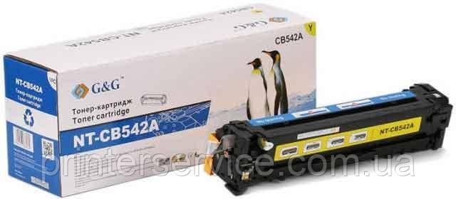 картридж G&G NT-CB542A (аналог HP CB542A)