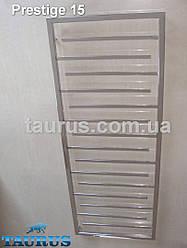 Гигантский, высокий нержавеющий полотенцесушитель Prestige 15 /1650х500, тупиковые перемычки 20х10