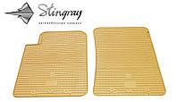 SsangYong Kyron  2006- Комплект из 2-х ковриков Бежевый в салон. Доставка по всей Украине. Оплата при получении