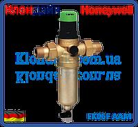 Самопромывной фильтр для горячей воды Honeywell FK06F 3/4 AAM с регулятором давления