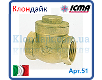 Icma обратный клапан лепестковый 1