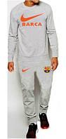 Тренировочный костюм FC Barcelona (Nike) серый