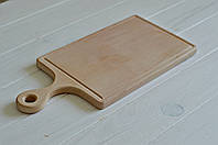 Деревянная разделочная доска с ручкой