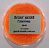 Глиттер (блестки), цвет - оранжевый флуоресцентный  10 г