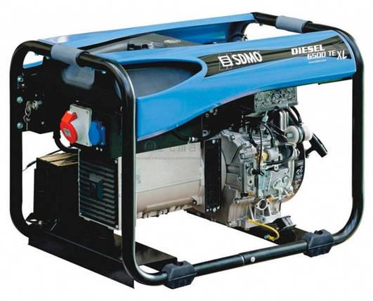 Генератор дизельний SDMO Diesel 6500 TE XL (5,2 кВт), фото 2