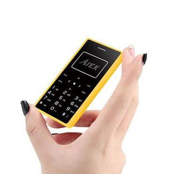 Мини телефон-кредитная карта AIEK X7
